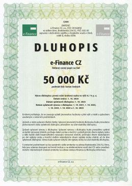 Zajištěné dluhopisy e-finance CZ