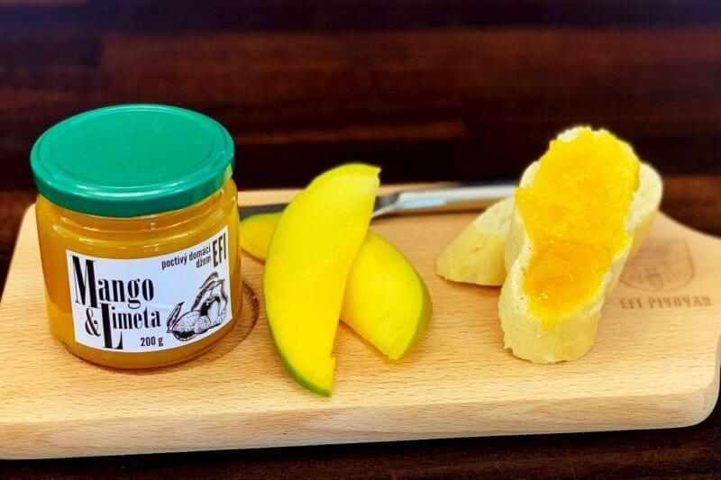 džem mango
