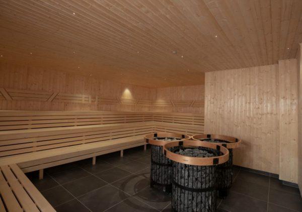 Krásná finská sauna